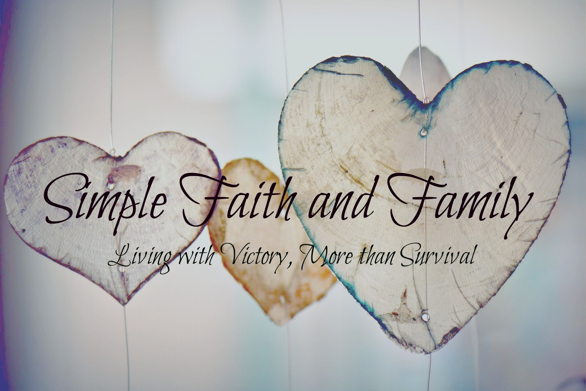 Simple Faith and Family